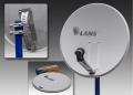 Перфорированная антенна Lans-65 белая