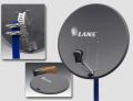 Перфорированная антенна Lans-65 темно-серая