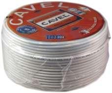 Коаксиальный кабель Cavel Sat 50M RG6 (бухты 100м, 250м)