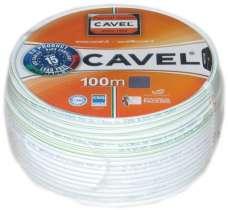 Коаксиальный кабель Cavel Sat 703B RG6 (бухты 100м, 250м)