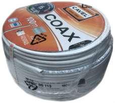 Коаксиальный кабель Cavel Sat DG 113 RG6 (бухты 100м, 250м)