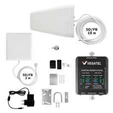 Комплект VEGATEL GSM-900/1800 ДОМ LED
