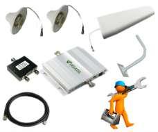 Комплект усиления связи для офиса GSM 900 до 300м2