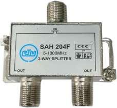 Делитель ТВ сигнала SAH 204F на 2 направления