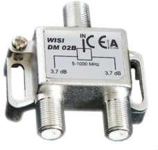 Делитель ТВ сигнала WISI DM 02B на 2 направления