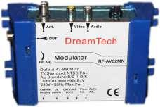 Модулятор тв  DreamTech RF-AV02MN моно