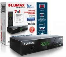 Эфирный цифровой ресивер Lumax DV3205HD