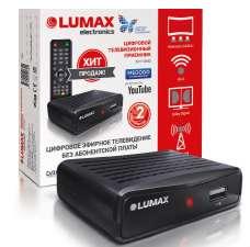 Эфирный цифровой ресивер Lumax DV1111HD