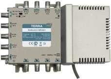 Мультисвич Terra MRS 904 9x4 на 2 спутника