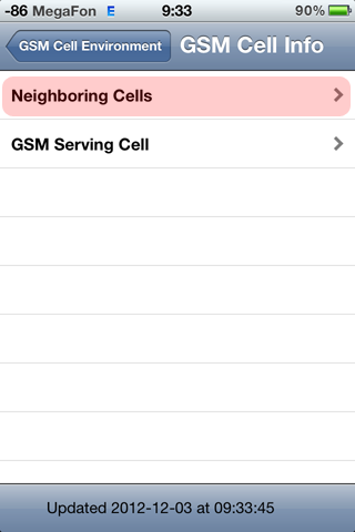 GSM Cell Info