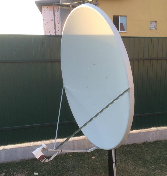 Установка антенны на азербайджанское тв