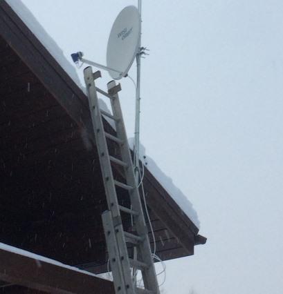 Ремонт спутниковой антенны