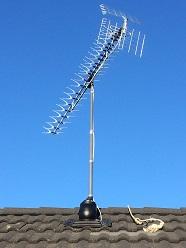 Установка эфирной дециметровой антенны Lokus L020.92