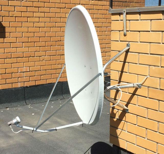 установка антенны телекарта тв
