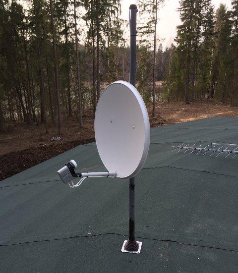 установка антенны триколор тв