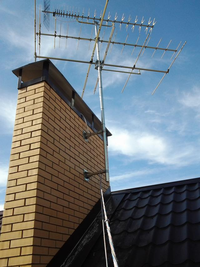 Установка эфирной антенны своими руками 95