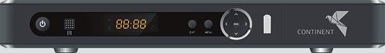 Continent Continent CHD-02/IR черного цвета для приёма Континент ТВ