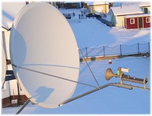 Спутниковый интернет оборудование