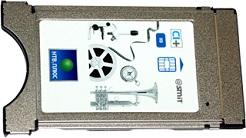 Модуль Viaccess MPEG4 для подключения НТВ Плюс