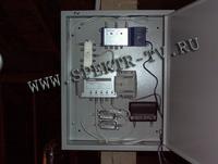 Установка элементов телевизионной разводки в монтажный ящик