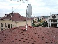 монтаж эфирной и спутниковой антенны