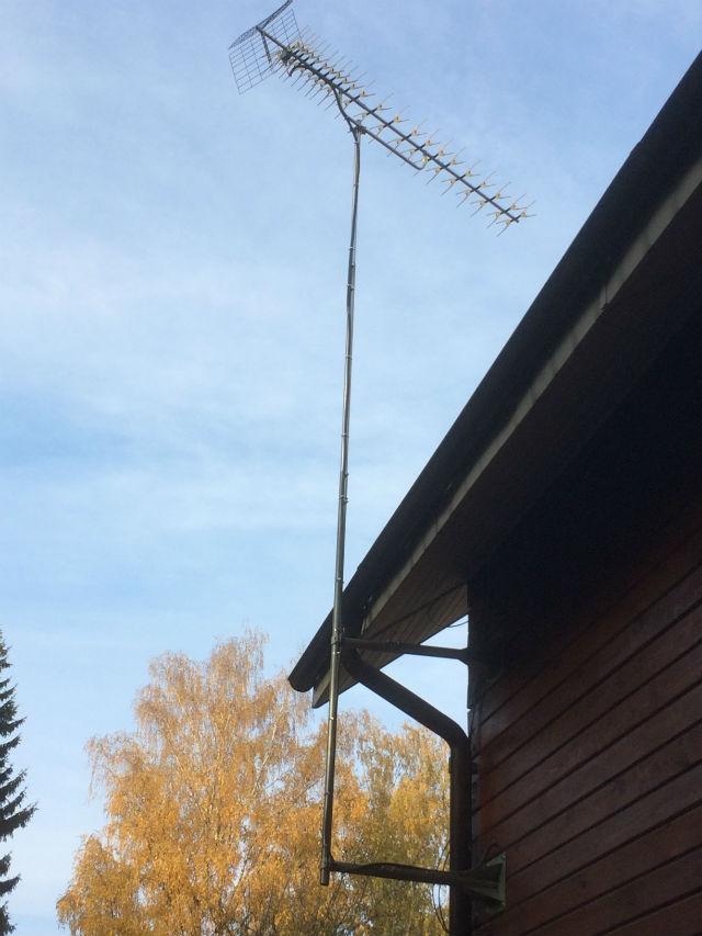 Подключение дециметровой антенны