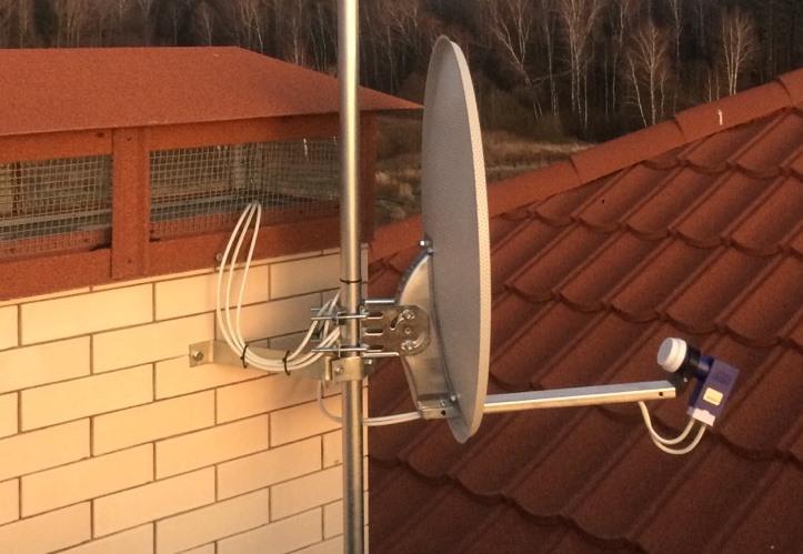 спутниковая тарелка на дачу с интернетом