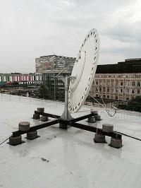 Установка спутникового телевидения. Осень 2016 г.