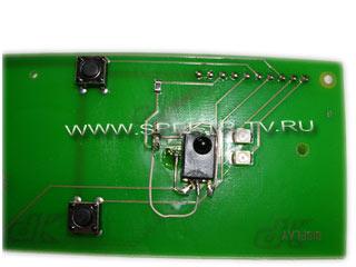 Замена IR диода в пульте ДУ спутникового ресивера Dreambox