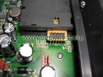 inappropriate resitors of finding the smart-card in satellite receiver dreambox
