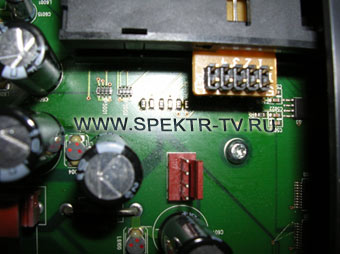 changing of resistors of finding the smart-card in satellite receiver dreambox