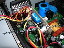 Coolers' control board in dreambox