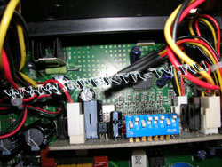 Temerature sensor element in dreambox receiver