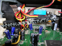 Connectors in Dreambox receiver