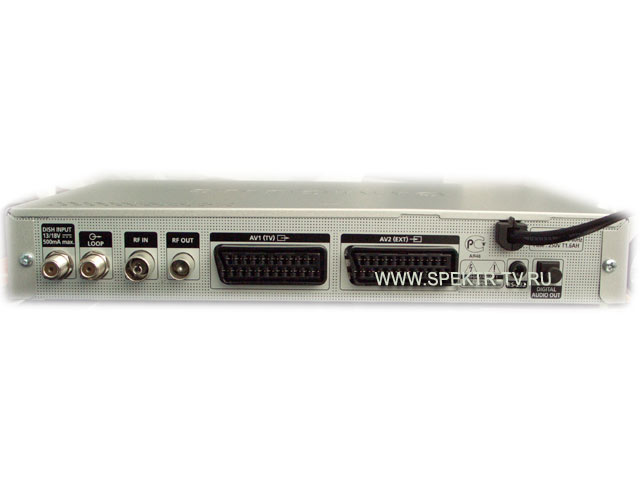 Схема подключения сервера и клиента Триколор ТВ (комплект ...